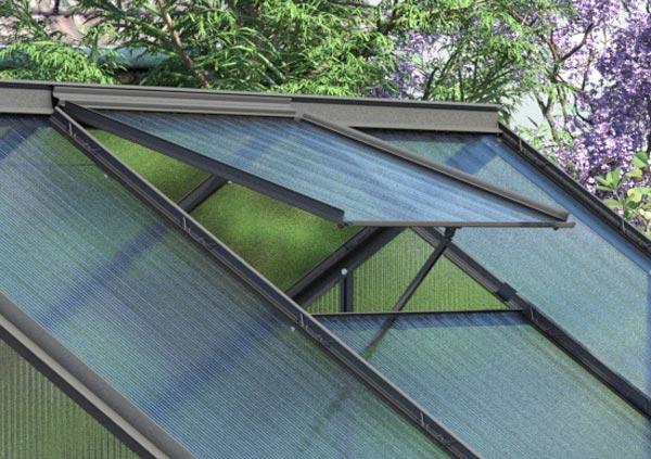 Dachfenster Rahmen Fur Vitavia Gewachshaus Calypso Anthrazit Bei