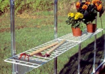 Gitter-Regal für Juliana Gewächshaus 150x25cm Bild 1