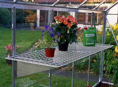 Gitter-Regal für Juliana Gewächshaus 150x50cm Bild 1
