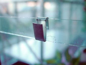 Glashalter für Juliana Gewächshaus Bild 1