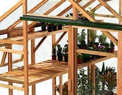 Holztisch für Gewächshaus Classic 4,4 m² Bild 1