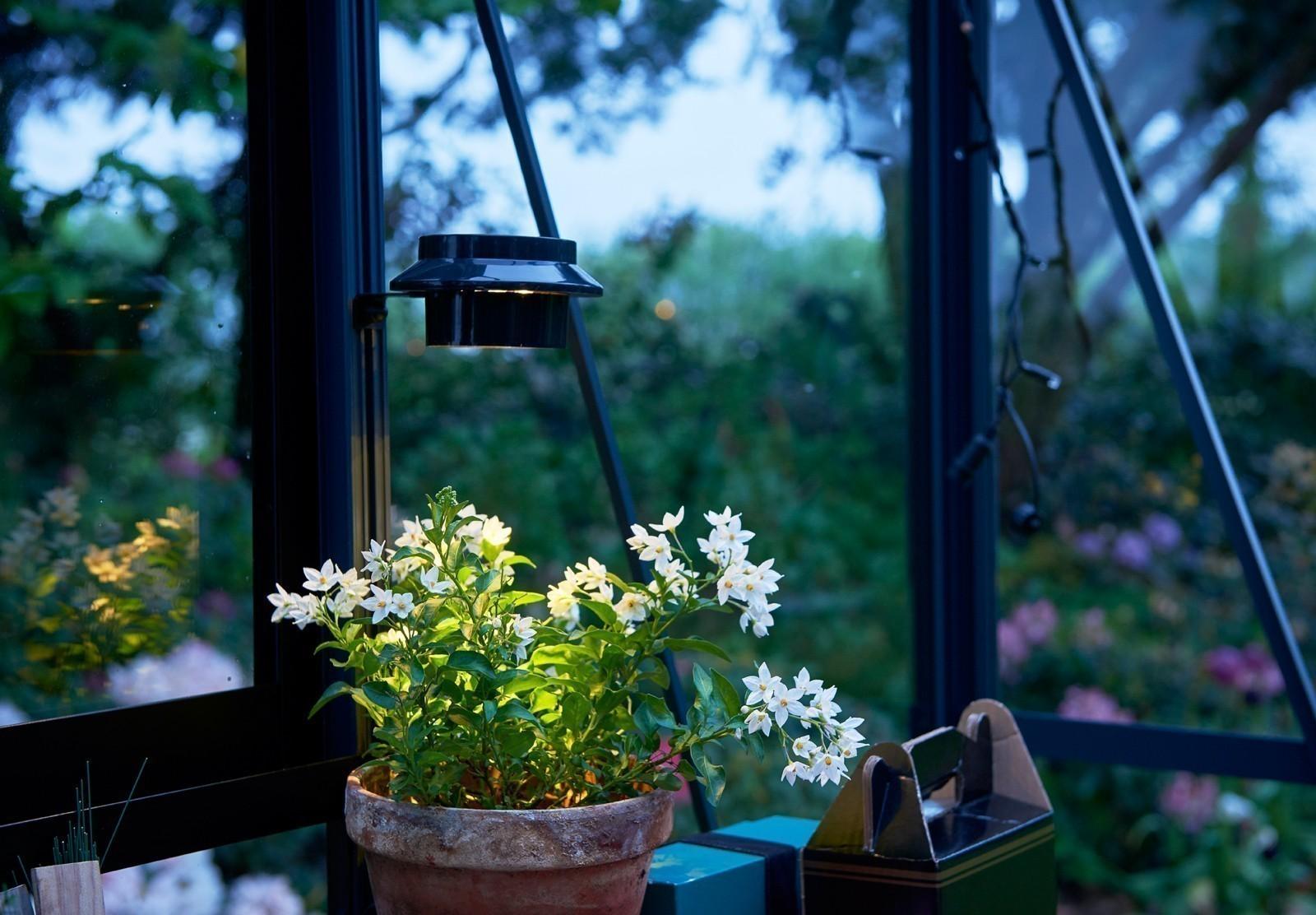 Juliana LED Solar Lampe für Gewächshäuser Bild 2