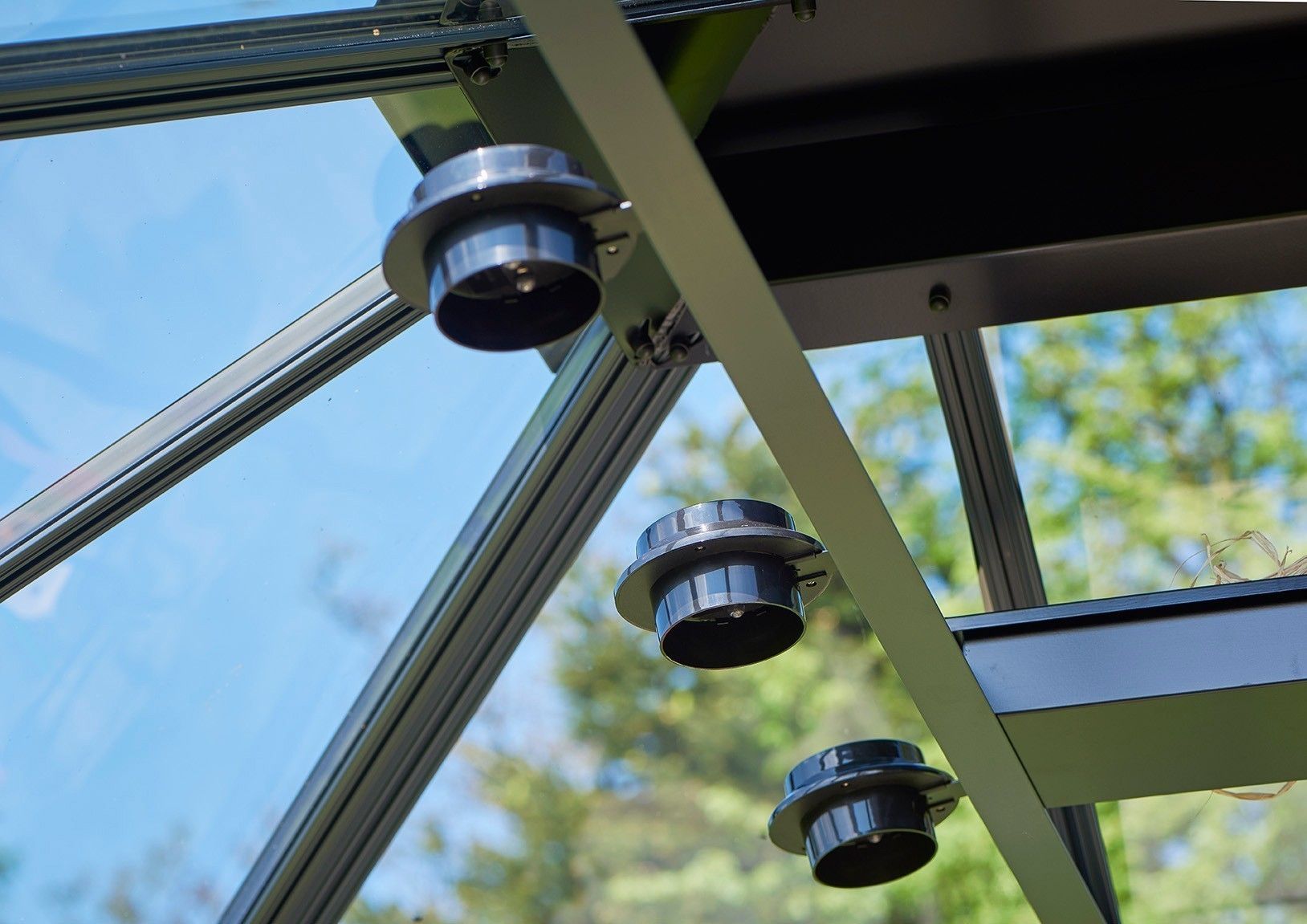 Juliana LED Solar Lampe für Gewächshäuser Bild 3