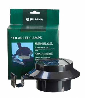 Juliana LED Solar Lampe für Gewächshäuser Bild 1