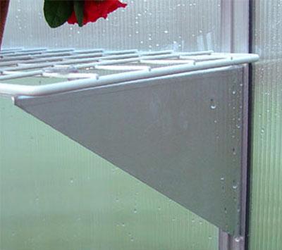Regalhalter für Juliana Gewächshaus B 50cm 3 Stück Bild 1