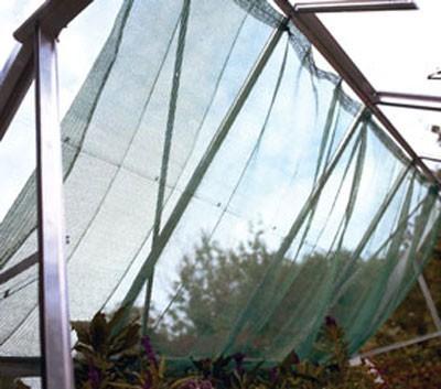 Schattierungsnetz Juliana Gewächshauser 150x350 cm Bild 1