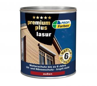 Holzlasur PROFI 2,5 Liter Holzfarbe farblos Bild 1