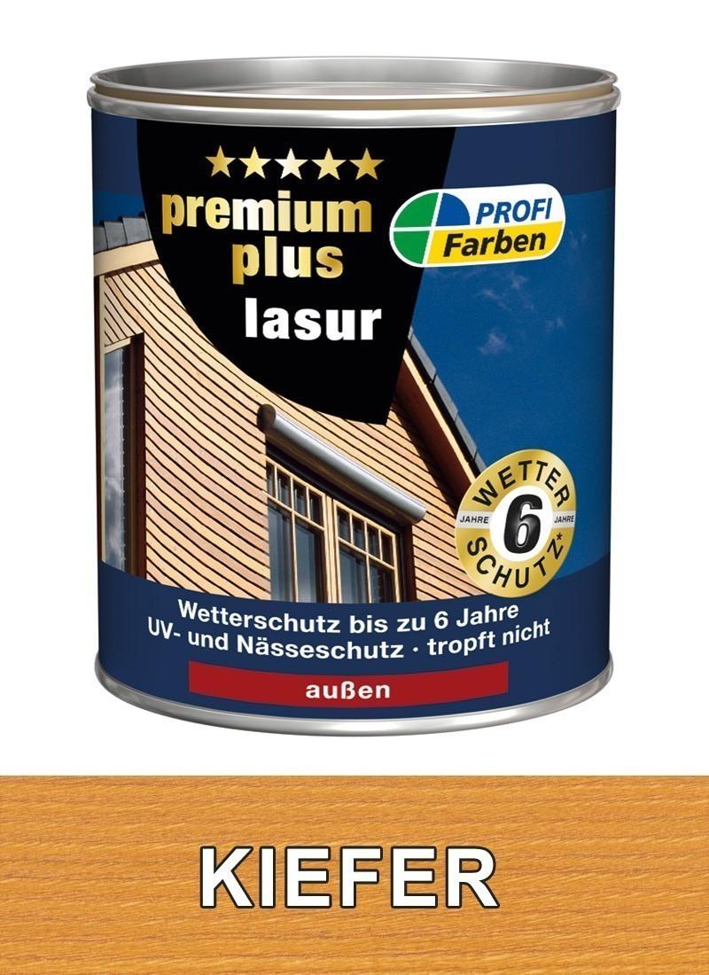 Holzlasur PROFI 2,5 Liter Holzfarbe kiefer Bild 1