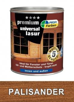 Holzschutzlasur Universal PROFI 750 ml Holzfarbe palisander Bild 1