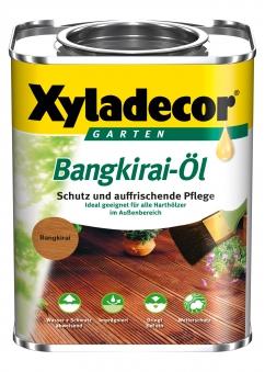 XYLADECOR Bangkirai-Öl 0,75 L / Holzpflege / Holzschutz Bild 1