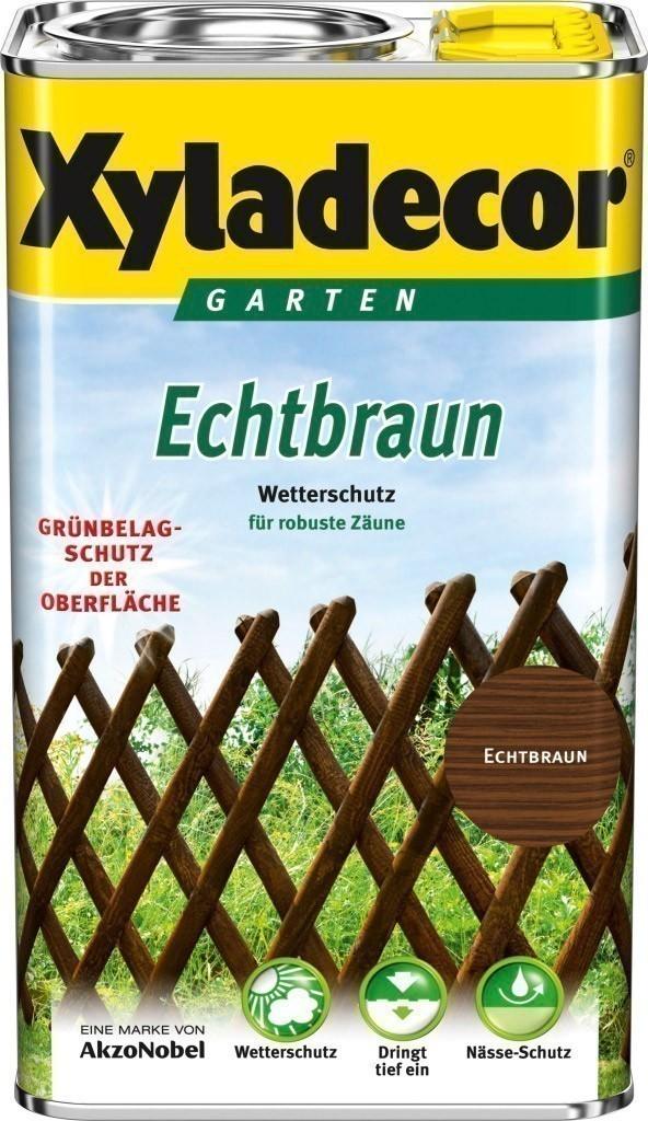 XYLADECOR Echtbraun 2,5 L / Holzschutz Lasur  / Holzpflege Bild 1