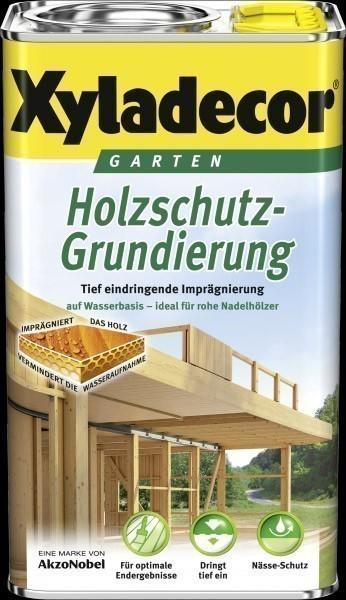 XYLADECOR Holzschutz Grundierung Garten 2,5 L farblos Wasserbasis Bild 1