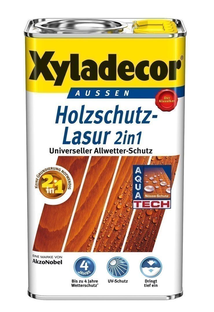XYLADECOR Holzschutzlasur 2in1 2,5 Liter Holzfarbe farblos Bild 1
