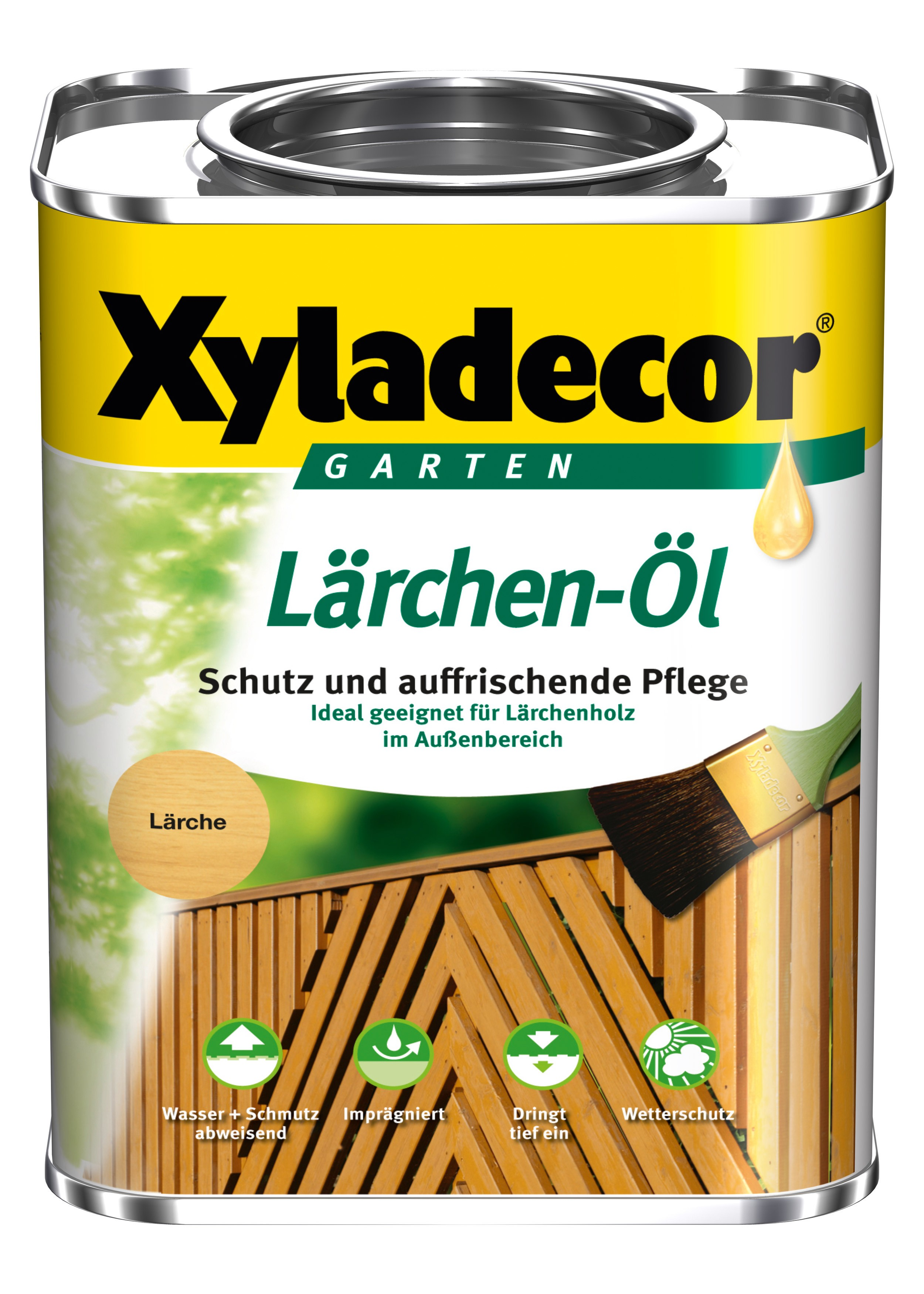 XYLADECOR Lärchen-Öl 0,75 L / Holzpflege / Holzschutz Bild 1
