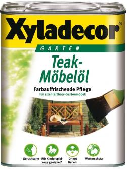 XYLADECOR Teak Möbelöl 0,75 L / Holzpflege / Holzschutz Bild 1