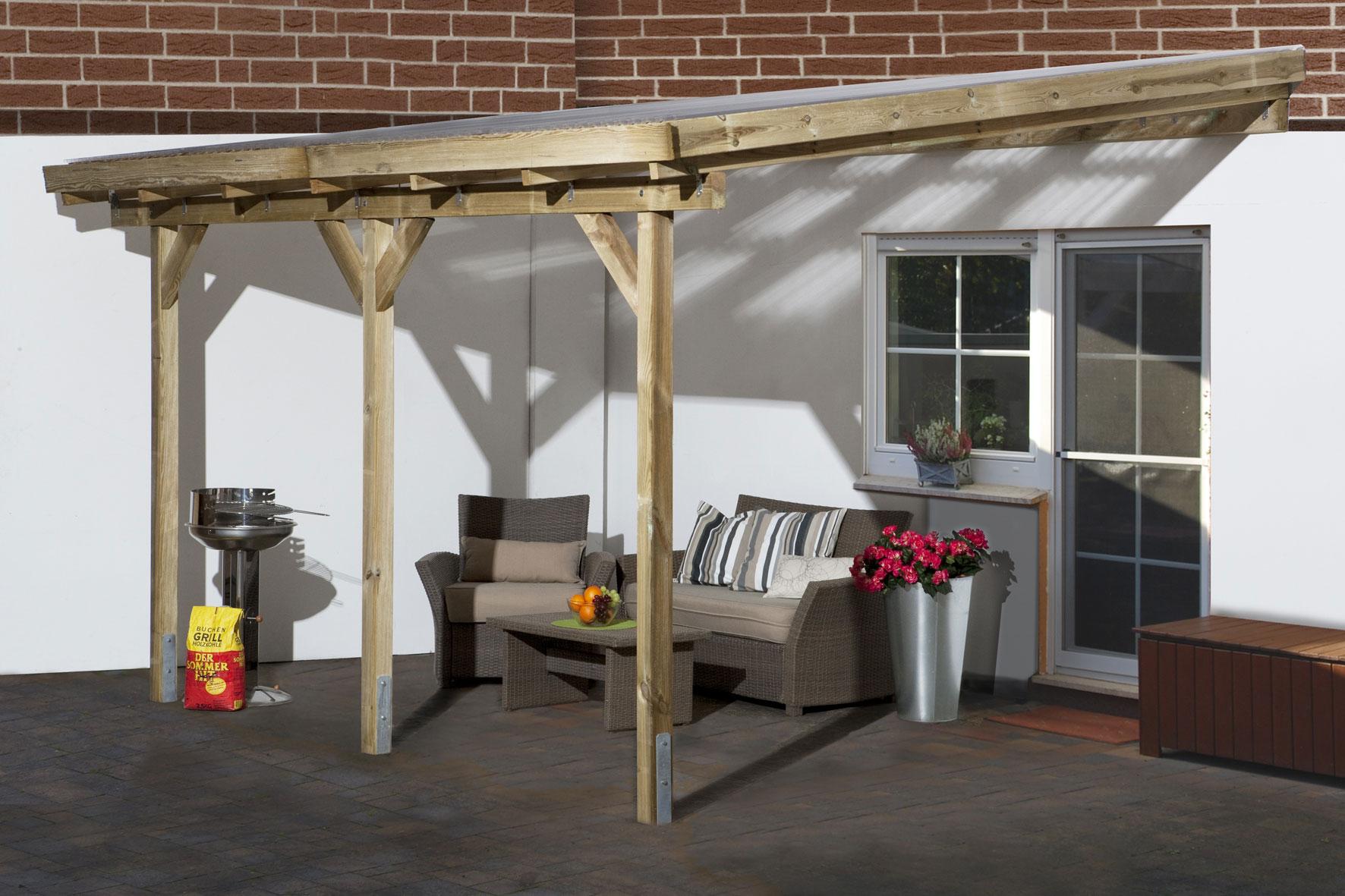 stunning anlehn carport holz photos. Black Bedroom Furniture Sets. Home Design Ideas