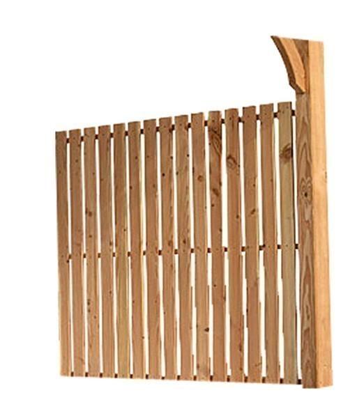r ckwandelement karibu f r terrassen berdachung douglasie3 310x150 cm bei. Black Bedroom Furniture Sets. Home Design Ideas