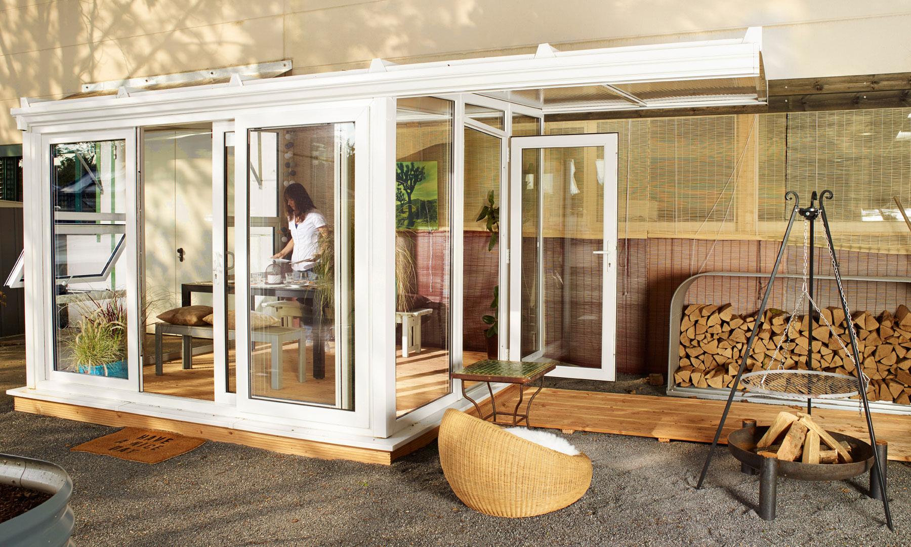 nordic wintergarten sol 17500 kunststoff wei opal. Black Bedroom Furniture Sets. Home Design Ideas