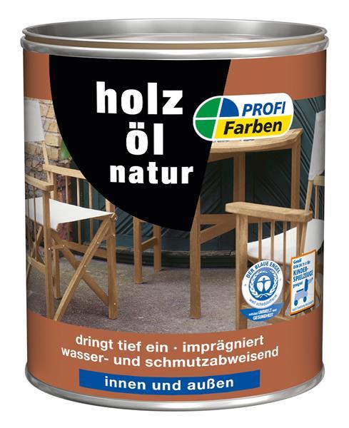 Holzöl / PROFI Farben Acryl Holzöl natur 2,5 L 867079