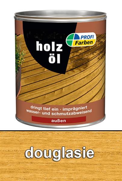 Holzöl / PROFI Farben Holzöl Lasur Douglasie 2,5 L 867096