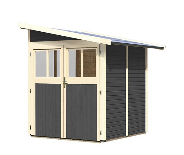karibu wandlitz2 preisvergleich gartenhaus g nstig kaufen bei. Black Bedroom Furniture Sets. Home Design Ideas